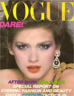 (Very Rare Hard to Find) Vogue Magazine British UK Edition April 1979 Gia Carangi Cover