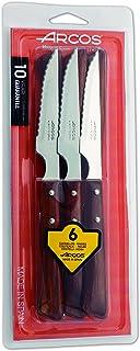 Arcos 372000 - Juego de cuchillos chuleteros, 110 mm (6pzas