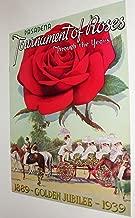 Pasadena Tournament of Roses Jubilee Pictorial 1939