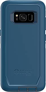 OtterBox Defender Series SCREENLESS Edition for Samsung Galaxy S8 - Frustration Free Packaging - Bespoke Way (Blazer Blue/Stormy SEAS Blue)