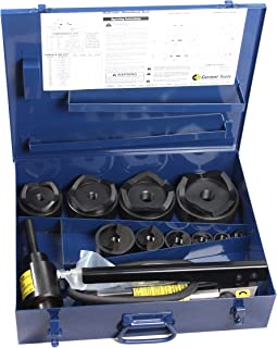 CURRENT TOOLS Hydraulic Knockout Set - Heavy Duty Holemaking Set with Piece Maker Punches & Dies - 154PM