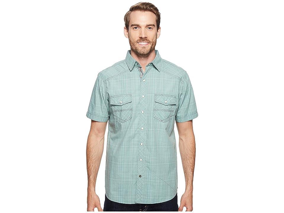 Ecoths Somersett Short Sleeve Shirt (Wasabi) Men