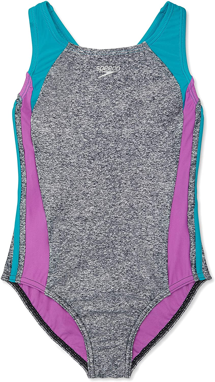 Speedo Luxury goods Nashville-Davidson Mall Girls' Swimsuit One Piece Splice Strap Infinity Thick