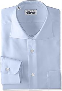 [フェアファクス] 形態安定加工ツイルワイドカラーシャツ 8201 メンズ