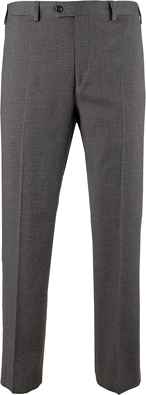 Ralph Lauren Save money Men's Comfort Flex Colorado Springs Mall Flat Dress Fit Pants Front Slim