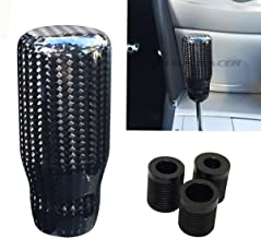 Mega Racer Universal Carbon Fiber Manual Transmission Speed 4 5 6 Sport Gear Stick Shift Knob Nismo Style Car Shifter Console Lever