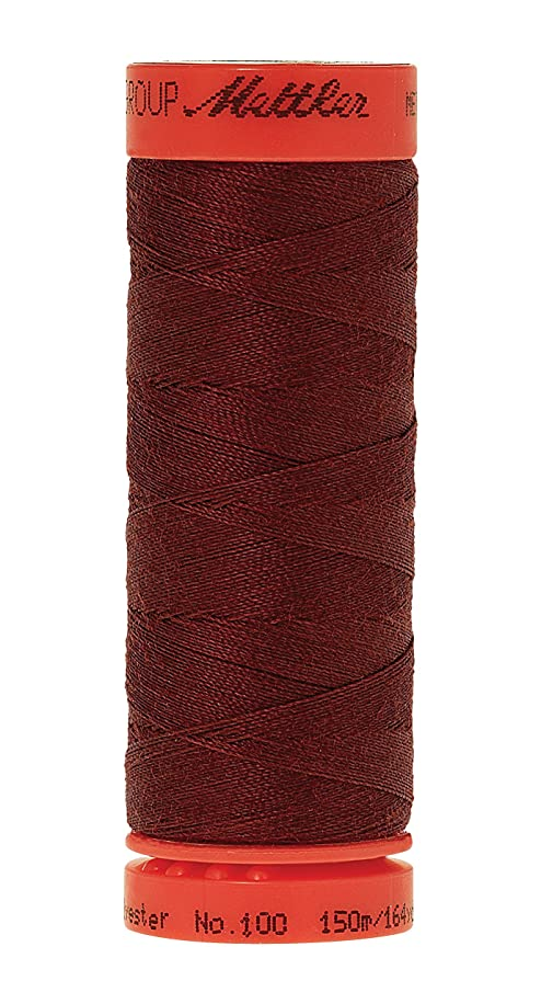 Mettler Metrosene 100% Core Spun Polyester Thread, 165 yd, Foxy Red