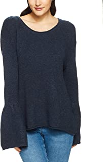 French Connection Women's Flossy Knit Bell Sleeve
