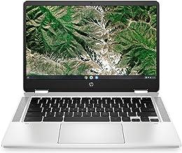"""HP Chromebook X360 14A 14a-ca0003ns - Ordenador portátil de 14"""" FullHD Táctil (Celeron N4020, 4GB de RAM, 64GB Emmc, Intel..."""