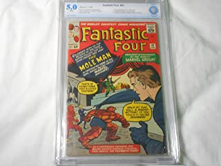 Fantastic Four #22 CBCS 5.0 White Pages 2nd Appearance of Mole Man Jack Kirby Stan Lee