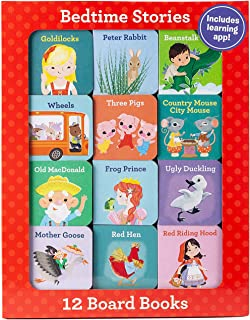 Bedtime Stories (12 Book Set & Downloadable App!)
