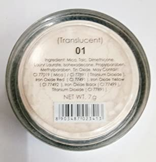 Miss Claire Blooming Face Powder Translucent 01, Beige, 7 g