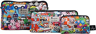 JuJuBe Be Set Travel Accessory Bags, Tokidoki Collection - Sushi Cars