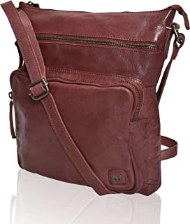 Women's Leather Crossbody Purses and Handbags for-Premium Crossover Bag Over the Shoulders