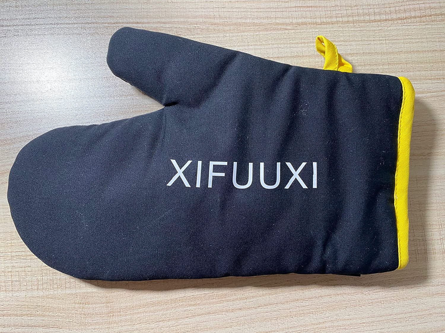 XIFUUXI specialty shop Silicone Oven Mitts Heat Resistant to No of F 500 1 Pair NEW before selling ☆