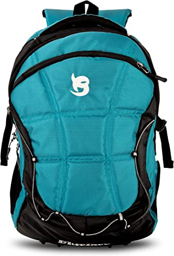 Bubbles Unisex Nylon 28 L Travel Laptop Backpack Trending Bag Water Resistant Slim Durable Fits Up To 15 6 Inch Laptop Notebook 711 ALL Black Air Force Blue