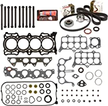 Evergreen HSHBTBK4020 Head Gasket Set Head Bolts Timing Belt Kit Fits 94-97 Honda Accord 2.2 F22B2 F22B6