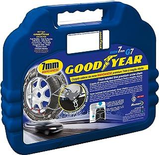 Goodyear 77958: 7 mm snökedjor för bilar, TUV och ONORM godkända, storlek 130