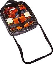 Connex Laadbeveiligingsset 8-delig - vier sjorbanden en vier bagagespanners - met herbruikbare tas - van polyester & polyp...