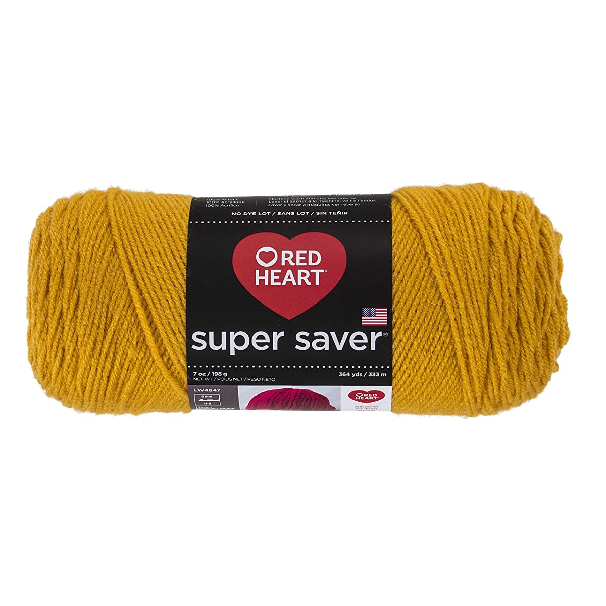 RED HEART Super Saver Yarn, Gold