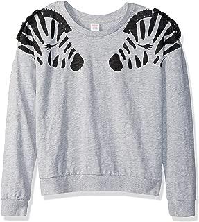 Girls' Long Sleeve Crew Neck Sweater