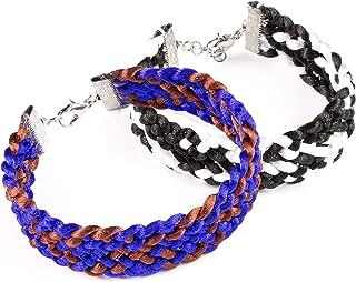 Cousin DIY 9pc Kumihimo Square Starter Kit - Makes 2 Bracelets