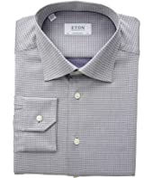 Eton - Contemporary Fit Textured Sold Button Down Shirt