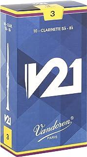 Vandoren CR803 Bb Clarinet V21 Reeds Strength 3; Box of 10