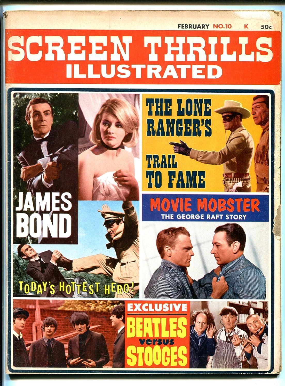 Screen Thrills Illust0 2 1965-final Bond-007 1 Year-end gift year warranty issue-Beatles-James