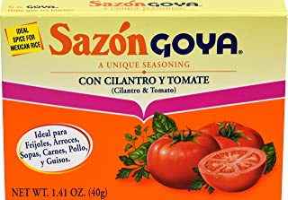 Goya Sazon Seasoning With Cilantro & Tomato, 1.41 Ounce