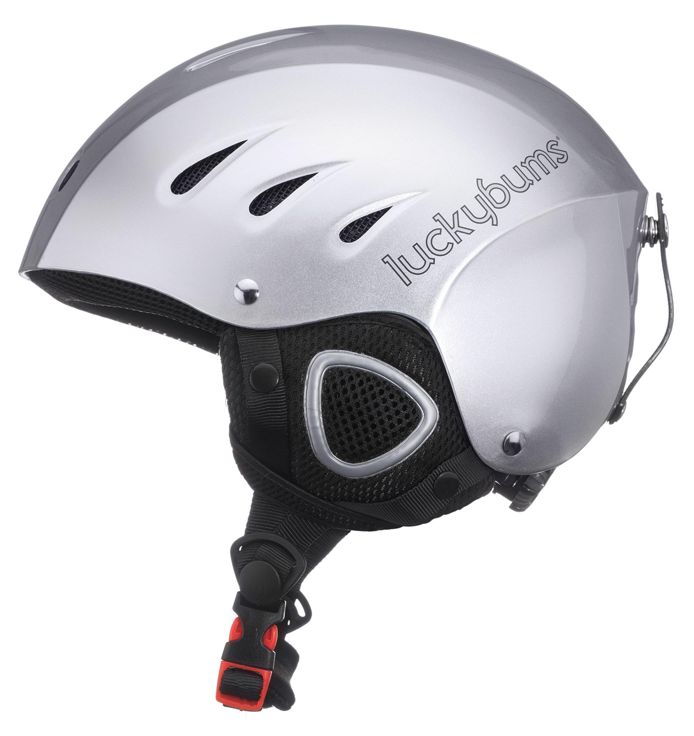 Lucky Sport Helmet Silver Large