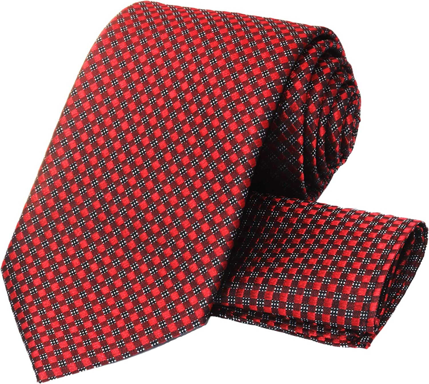 100% Silk Ties Necktie Set for Squar Pocket Tie Free Shipping New and Handmade Fixed price sale Men