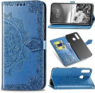 Ferilinso Funda para Huawei P Smart Z//Huawei Y9 Prime 2019,Calidad de la PU con la Ranura de la Tarjeta de cr/édito Kickstander Cubierta Soporte Soporte de Cierre magn/ético Oro Rosa