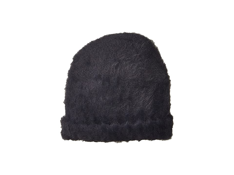 Free People Head In The Clouds Fuzzy Beanie (Navy) Beanies