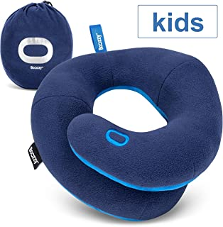 BCOZZY Kids- Travel Pillow- Supports Child's Head, Neck & Chin While Sleeping in..