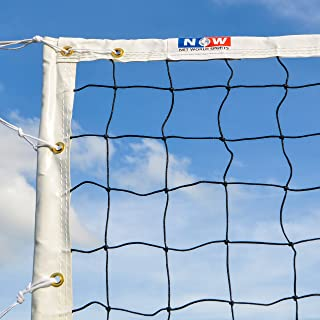 Net World Sports Competition Volleyball Nets | FIVB Regulation Volleyball Nets for Tournaments | Net Only