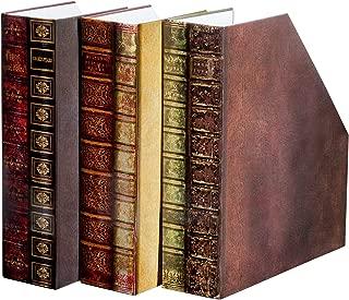 Magazine Holders - Set of 3, Decorative Organizer File Boxes