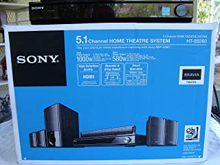 Sony HTSS360 5.1 channel Home Theater System (Black) (Discontinued by Manufacturer)