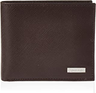 Calvin Klein Wallet Saffiano Stamped Global Billfold With Coin Pocket