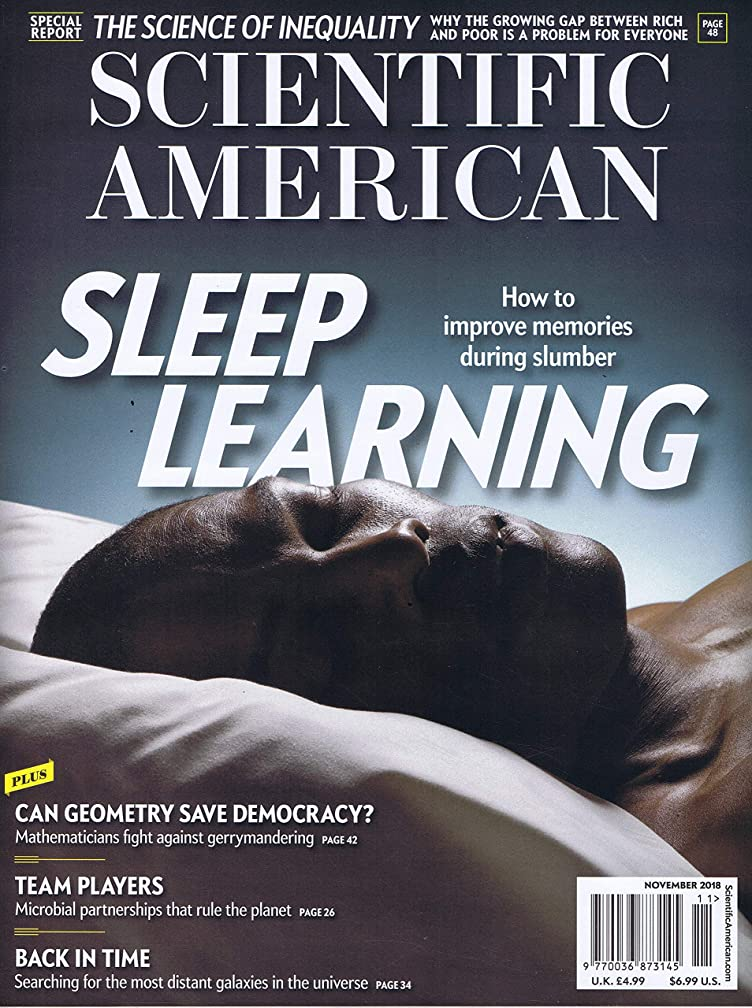 子羊聖職者悪性Scientific American [US] November 2018 (単号)