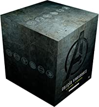 Coleção Vingadores 4 Filmes (9 Discos) Blu-ray - Steelbook