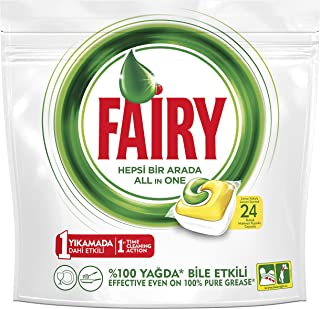 Fairy Tablets For Dishwasher Cleaner - 24 Tablets