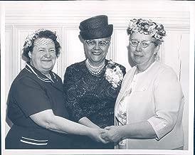 Vintage Photos 1964 Press Photo Stewart Holmes Anna Arnold Hedgeman Peter Coogan Council 7x9
