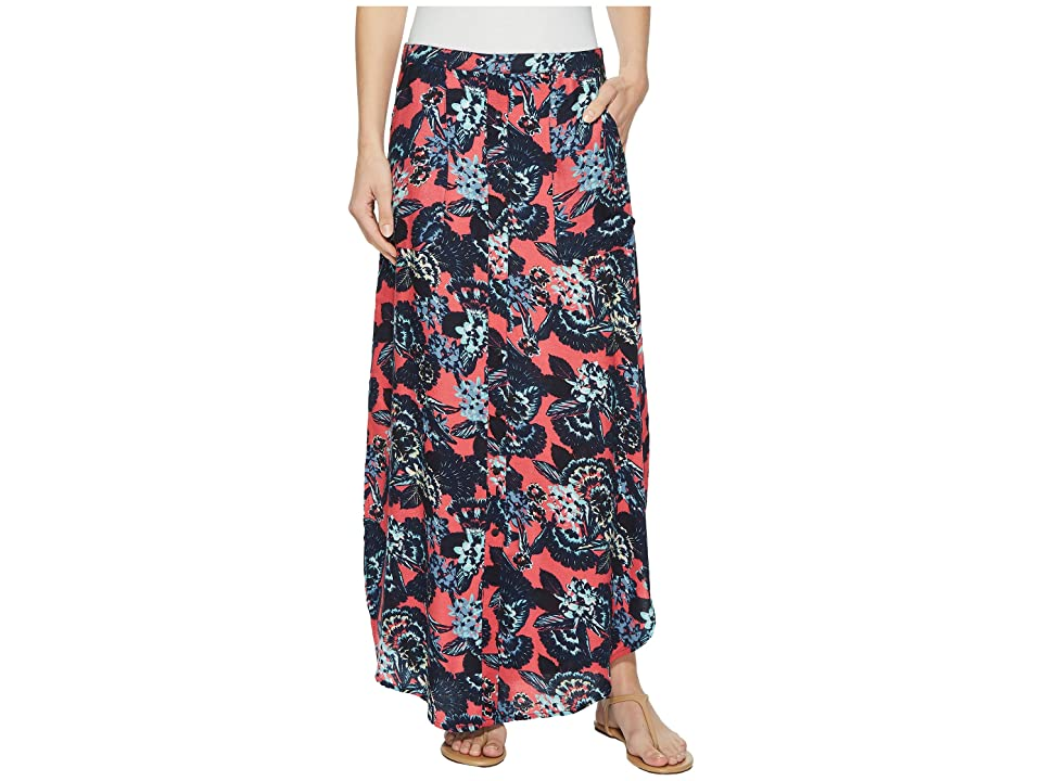 Roxy Sunset Islands Skirt (Rouge Red Mahna) Women