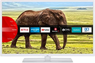 JVC LT 32VH5955W 32 Zoll Fernseher (Smart TV inkl. Prime Video / Netflix / YouTube, HD ready, Bluetooth, Works with Alexa, Triple Tuner) [Modelljahr 2021]