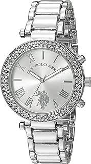 U.S. Polo Assn. Women's Silver Dial Alloy Band Watch - USC40172