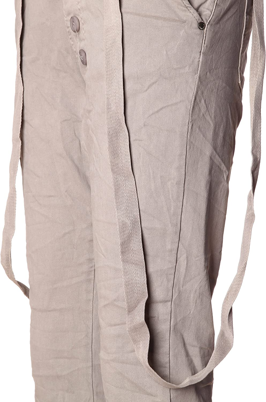 Basic.de - Pantalon - Femme - Hellgrau