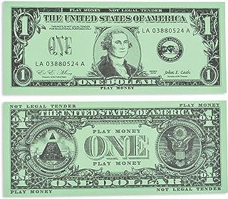 Learning Advantage One Dollar Play Bills 100-Pieces Set