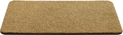 F&S Coco-CRUM Entrance Mat 50 x 80 cm High Quality Extremely Sturdy 4070 g/m2 12 mm Thick for Internal and External Use Natural Colour. Made in WEST Europe for Apricot Montreal