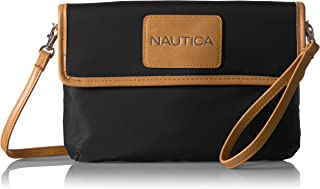 Nautica Perfect Carry-All RFID Blocking Mini Crossbody - portafolios para muñeca
